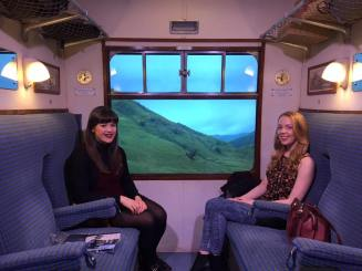 On Board the Hogwarts Express!